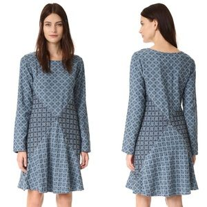 Ace & Jig Court Long Sleeve Gauzy Cotton Dress